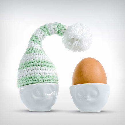 Good Night Cap Egg hat green/white