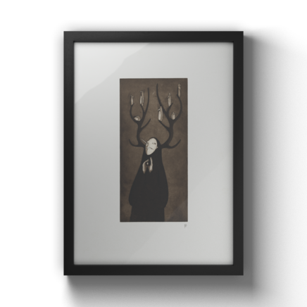 FineArt Print - Stag - 50x70cm