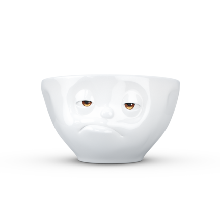 "Medium bowl ""Snoozy"" with colorful eyes, 200 ml"