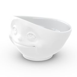 Bowl, 'Crazy in love'/'Dreamy', matted white