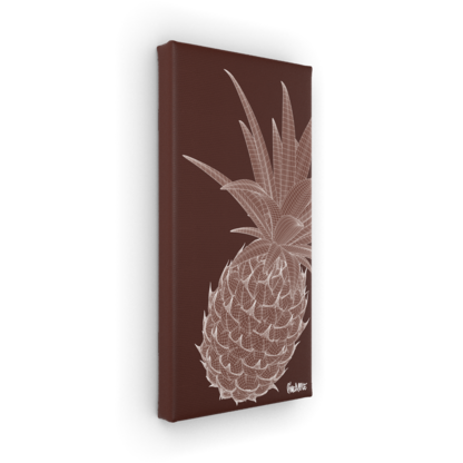 Art on Canvas Pineapple 40 x 20 x 4 cm