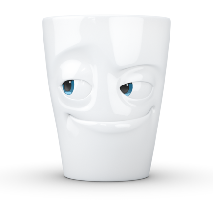 MUG with handle Impish - Colorful eyes