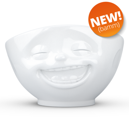 Bowl Laughing white 1000 ml