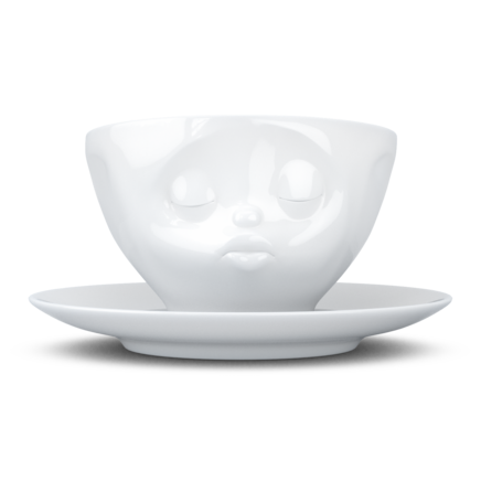"Coffee Cup ""Kissing"" white, 200 ml"