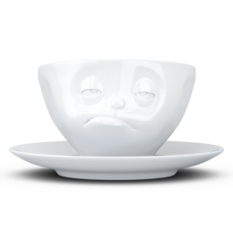 "Coffee Cup ""Snoozy"" white, 200 ml"