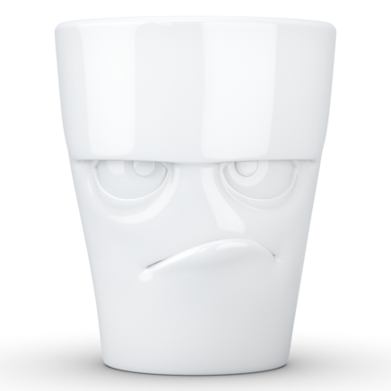 MUG with handle Grumpy