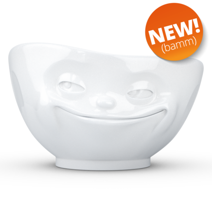 Bowl Grinning white 1000 ml