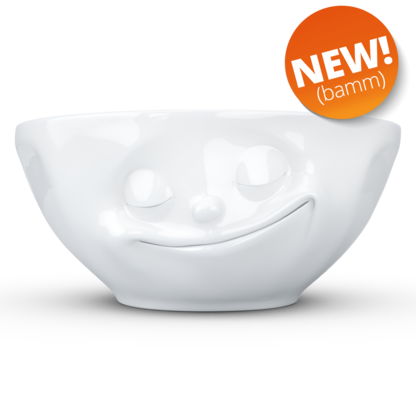 Bowl Happy 350 ml white