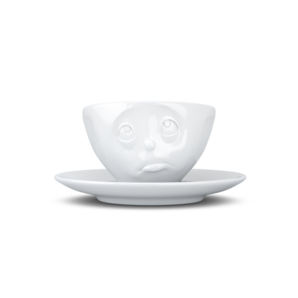 Espresso cup, oh please, white