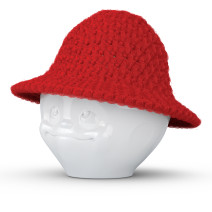 Egg hip-hop hat red