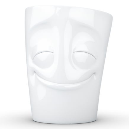 "MUG with handle ""Cheery"" white, 350 ml"