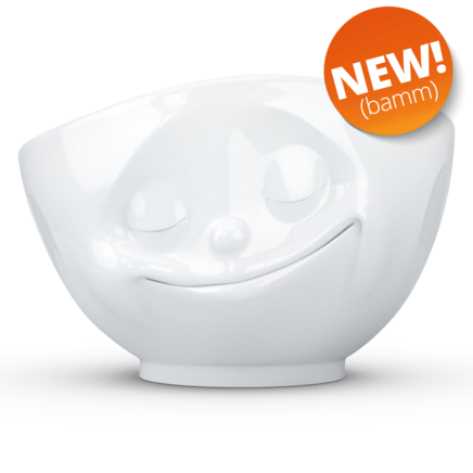 Bowl Happy white 1000 ml